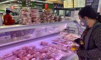 Thịt lợn đông lạnh không thực sự hút khách