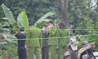 Cảnh sát phong tỏa hiện trường vụ án