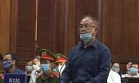 Cựu Phó Chủ tịch Thường trực UBND TPHCM Nguyễn Thành Tài trong lần hầu tòa trước đây. Ảnh: Tân Châu