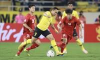 Các cầu thủ Malaysia sẽ không dễ để ĐTVN vượt qua như ở trận thua 0-2 trên sân Mỹ Đình ở vòng bảng ảnh: VSI