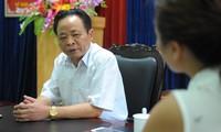 PV Tiền Phong làm việc với ông Vũ Văn Sử, khi đó là Giám đốc Sở GD&ĐT tỉnh Hà Giang