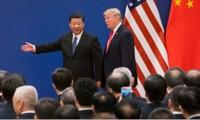 Chủ tịch Trung Quốc Tập Cận Bình và Tổng thống Mỹ Donald Trump tham dự một sự kiện tại Bắc Kinh năm 2017 ảnh: NYT
