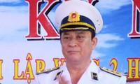 Thiếu tướng Nguyễn Văn Đức, Cục trưởng Cục Tuyên huấn trả lời các câu hỏi của báo chí tại buổi họp báo chiều ngày 9/7, tại Hà Nội ẢNH: N.M