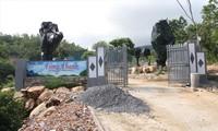 Một trang trại xây dựng trái phép trên núi Hòn Rồng chưa bị xử lý