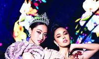 Song hậu tại sân khấu Lễ hội Hoa Đà LạtẢnh: Ê kíp Sen Vàng thực hiện