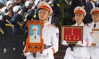 Tiễn biệt 3 liệt sĩ công an hy sinh ở Đồng Tâm