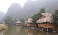 Hàng chục homestay được dựng ngay trong vùng lõi di sản Ảnh: Long Vân