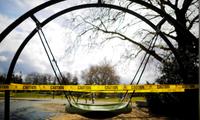 Một khu vui chơi trẻ em ở Seattle, bang Washington, đóng cửa hôm 24/3 vì dịch COVID-19Ảnh: Reuters