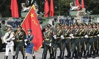 Quân đội Trung Quốc tuyên bố quân đồn trú Hong Kong sẽ kiên quyết bảo vệ an ninh và chủ quyền quốc gia Ảnh: Sam Tsang/SCMP