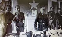 Phái đoàn Quân sự CPLTCHMN Việt Nam trong trại Davis