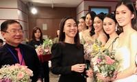 Nhà báo Lê Xuân Sơn, Tổng biên tập báo Tiền Phong, Trưởng BTC cuộc thi HHVN 2020 chúc mừng các thí sinh bước tiếp, đồng thời cảm ơn gần 200 thí sinh đến với cuộc thi. Bước tiếp hay dừng lại cũng đều là dấu ấn thanh xuân của các bạn.