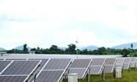Một dự án điện mặt trời tại Đắk Lắk