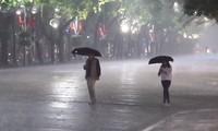 Mưa rào tại Hà Nội đêm 30 Tết, một năm nhiều sự kiện, biến động