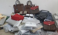 Một số mẫu trong lô hàng của Công ty TNHH An Bình xuất nhập khẩu Hà Nội được Hải quan lấy đi giám định