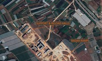 Ảnh vệ tinh từ tháng 12/2020 cho thấy một công trình với nhiều dấu hiệu của một căn cứ tên lửa đất đối không ở TP Mông Tự