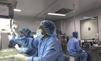 Trong nhà máy vắc-xin Incepta ở ngoại ô thủ đô Dhaka của Bangladesh. Ảnh: AP