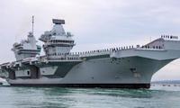 Tàu sân bay Anh HMS Queen Elizabeth sẽ đến Biển Đông vào giữa năm nayảnh: Alamy