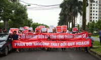 Cư dân khu Ngoại giao đoàn phản đối chủ đầu tư phá vỡ quy hoạch