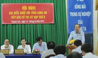 Phó Thủ tướng Thường trực Trương Hòa Bình phát biểu tại buổi tiếp xúc cử triẢnh: Vietnam+