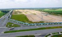 Khu đất 43 ha TCT Bình Dương chuyển nhượng trái quy định cho Công ty Tân Phú nay được Kim Oanh Group triển khai dự án phân lô bán nền Ảnh: H.C