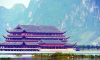 Một góc chùa Tam Chúc