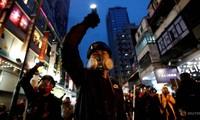 Luật an ninh mới có thể kéo người biểu tình Hong Kong xuống phố lần nữa ảnh: Reuters