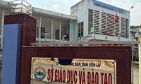 Trụ sở Sở GD&ĐT tỉnh Sơn La Ảnh: Nguyễn Hoàn