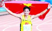 Nguyễn Văn Lai sẽ phải vất vả bảo vệ danh hiệu vô địch bán marathon trước đàn em Phạm Tiến Sản