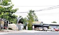 Khu vực quán cà phê Villa