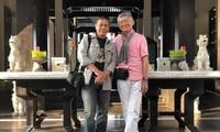 Đạo diễn Hồ Quang Minh và Nhà quay phim Trần Hùng