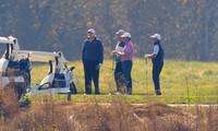 Ông Trump đang đi chơi golf thì nhận được tin ông Biden chiến thắngẢnh: AP