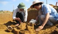 Hình ảnh khai quật Bãi Cọi lần thứ 2 vào 2009-2010