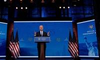 Ông Joe Biden có bài phát biểu được truyền hình, sau khi cử tri đoàn tuyên bố ông thắng cử