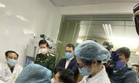 Một trong 3 người tình nguyện tiêm vắc-xin ngừa COVID-19 đầu tiên