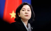 Người phát ngôn Bộ Ngoại giao Trung Quốc Hoa Xuân Oánh ảnh: JT