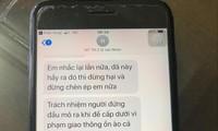 Tin nhắn bà Nhạn đe dọa mang xăng đốt cấp trên của mình
