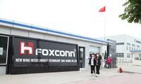 """Foxconn một trong những thành công lớn của Bắc Giang nhờ """"làm tổ"""" cải cách môi trường đầu tư tốt ảnh: ng.Thắng"""