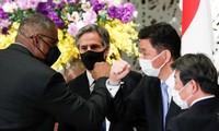 Bốn bộ trưởng Mỹ và Nhật Bản thể hiện quyết tâm sát cánh ảnh: Reuters