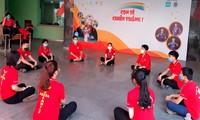 Sinh viên ở lại Hà Nội tích cực vận động hiến máu trong mùa dịch