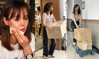 Cám cảnh Hoa hậu châu Á làm 'cửu vạn' sau khi phá sản
