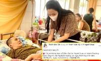 Trịnh Kim Chi kêu gọi được gần 200 trăm triệu đồng ủng hộ nghệ sĩ Hoàng Lan