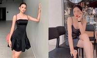 Hai nàng hậu Tiểu Vy, Kỳ Duyên 'đọ dáng' với váy đen bó sát