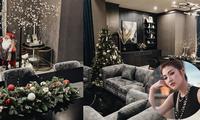 Sao Việt trang hoàng nhà cửa, rục rịch đón Giáng sinh