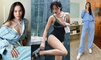 Hiền Thục, Tiểu Vy năng động với đồ thể thao, Khánh Linh khoe body nóng bỏng