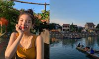 Nữ thần tượng KPop khoe bộ ảnh du lịch tại Đà Nẵng khiến fan Việt thích thú
