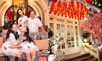 Sao Việt trang hoàng nhà cửa lộng lẫy đón Xuân Tân Sửu