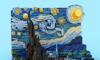 Kiệt tác hội hoạ của Van Gogh được sản xuất thành bộ lắp ghép Lego hơn 1000 chi tiết