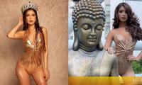 Miss Grand Mexico mặc áo tắm, catwalk bên tượng Phật bị chỉ trích