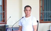 Bị cáo Linh tại phiên tòa - Ảnh: Kim Hà.