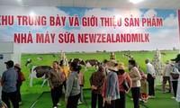 Hình ảnh buổi tham quan nhà máy sữa của công ty tại Bình Dương.